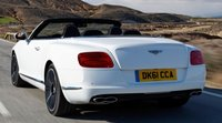 2013 Bentley Continental GTC, Back quarter view., exterior, manufacturer