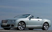 2013 Bentley Continental GTC, Front quarter view., manufacturer, exterior