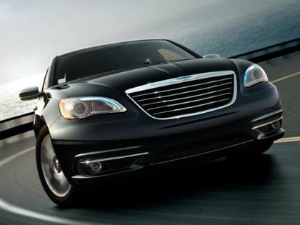 2013 Chrysler 200, Front quarter view copyright AOL Autos., exterior, manufacturer