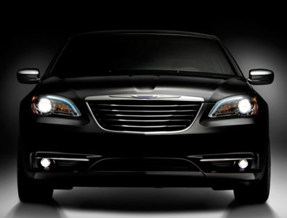 2013 Chrysler 200, Front View copyright AOL Autos., exterior, manufacturer
