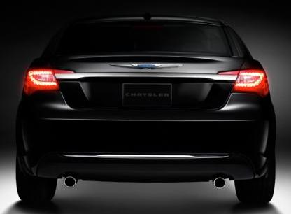 2013 Chrysler 200, Back View copyright AOL Autos., exterior, manufacturer