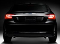 2013 Chrysler 200, Back View copyright AOL Autos., manufacturer, exterior