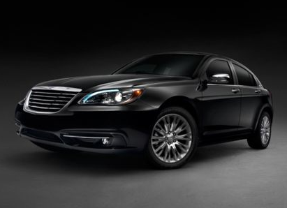 2013 Chrysler 200, Front quarter view copyright AOL Autos., manufacturer, exterior