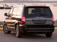 2013 Chrysler Town & Country, Back View copyright AOL Autos. , manufacturer, exterior