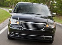 2013 Chrysler Town & Country, Front View., exterior, manufacturer