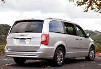 2013 Chrysler Town & Country, Back quarter view copyright AOL Autos., exterior