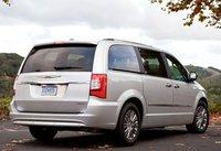2013 Chrysler Town & Country, Back quarter view copyright AOL Autos., exterior