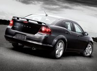 2013 Dodge Avenger, Back quarter view copyright AOL Autos, manufacturer, exterior