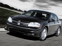 2013 Dodge Avenger, Front quarter view copyright AOL Autos, exterior, manufacturer