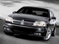 2013 Dodge Avenger, Front View copyright AOL Autos., exterior, manufacturer