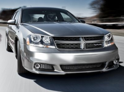 2013 Dodge Avenger, Front quarter view copyright AOL Autos., exterior, manufacturer