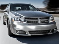 2013 Dodge Avenger, Front quarter view copyright AOL Autos., manufacturer, exterior