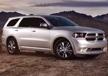 2013 Dodge Durango, Front quarter view copyright AOL Autos., manufacturer, exterior