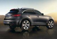 2013 INFINITI FX50, Back quarter view copyright AOL Autos., exterior, manufacturer