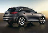 2013 Infiniti FX50, Back quarter view copyright AOL Autos., manufacturer, exterior