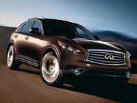 2013 Infiniti FX50, Front quarter view copyright AOL Autos., manufacturer, exterior