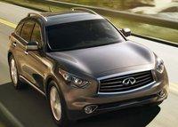 2013 Infiniti FX50, Front View copyright AOL Autos., exterior, manufacturer