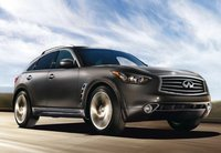 2013 Infiniti FX50, Front quarter view copyright AOL Autos., exterior, manufacturer