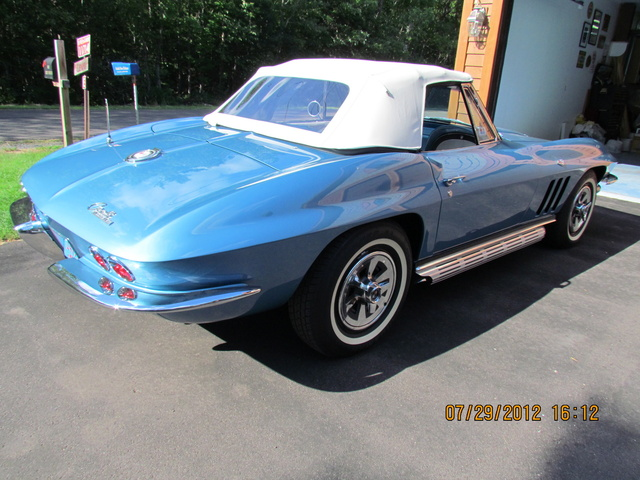 Picture of 1965 Chevrolet Corvette Convertible Roadster, exterior, gallery_worthy