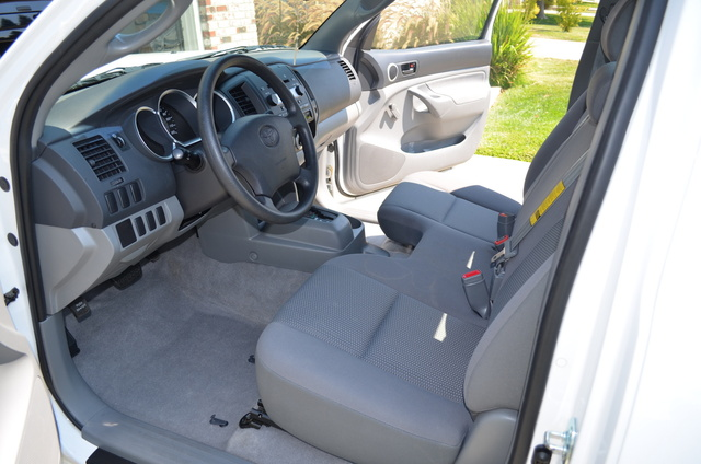 Exceptional Picture Of 2006 Toyota Tacoma 2dr Regular Cab SB W/manual, Interior,  Gallery_worthy
