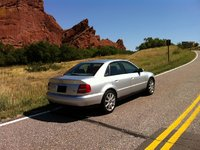 2001 Audi A4 1.8T Quattro, Picture of 2001 Audi A4 4 Dr 1.8T quattro Turbo AWD Sedan, exterior