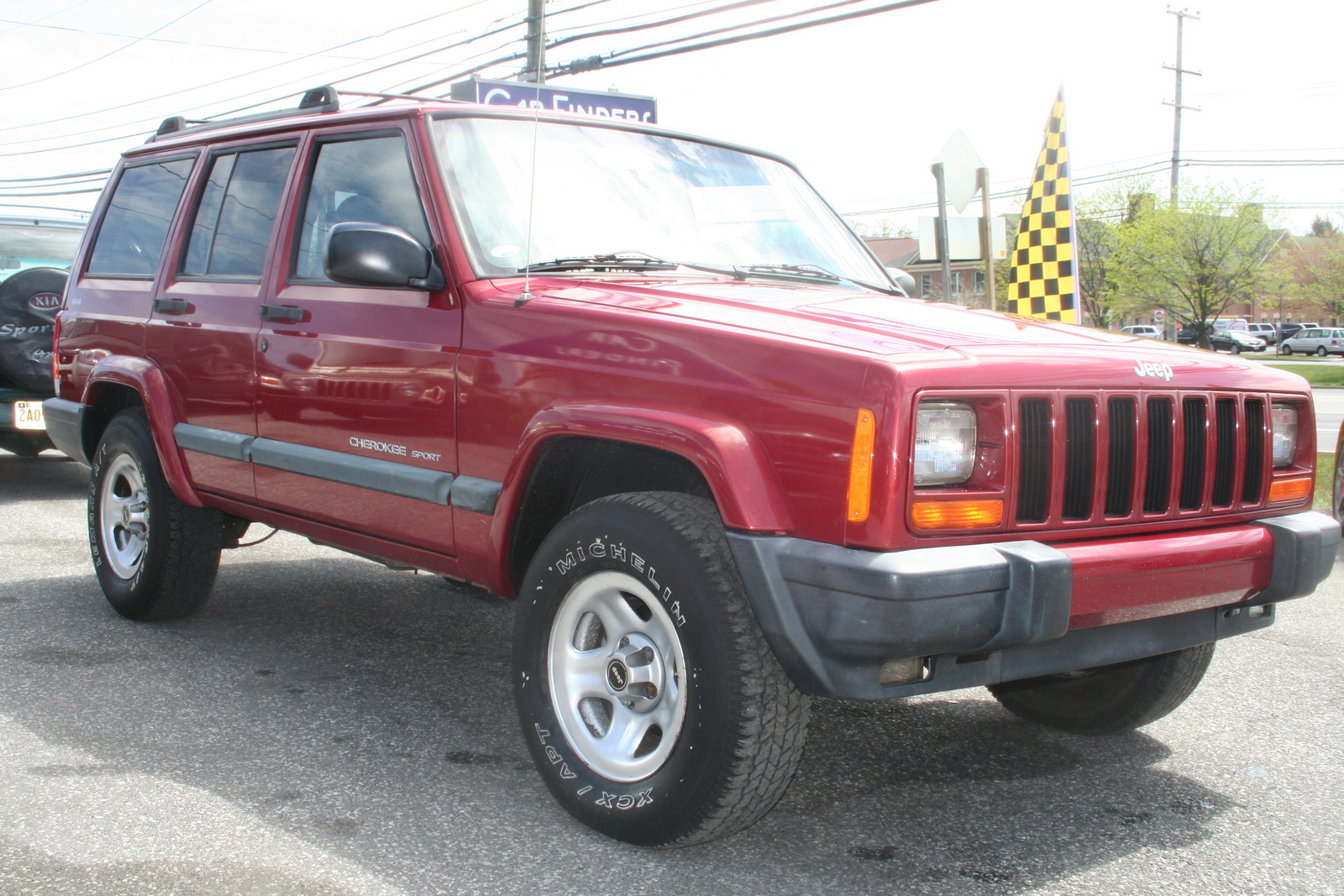 picture of 2001 jeep cherokee 4 dr sport 4wd exterior. Cars Review. Best American Auto & Cars Review