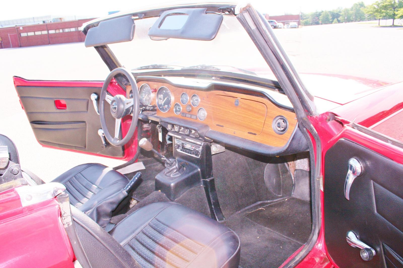 1975 Triumph Tr6 Interior Pictures Cargurus