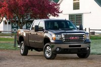 2013 GMC Sierra 2500HD, exterior right front quarter view, manufacturer, exterior