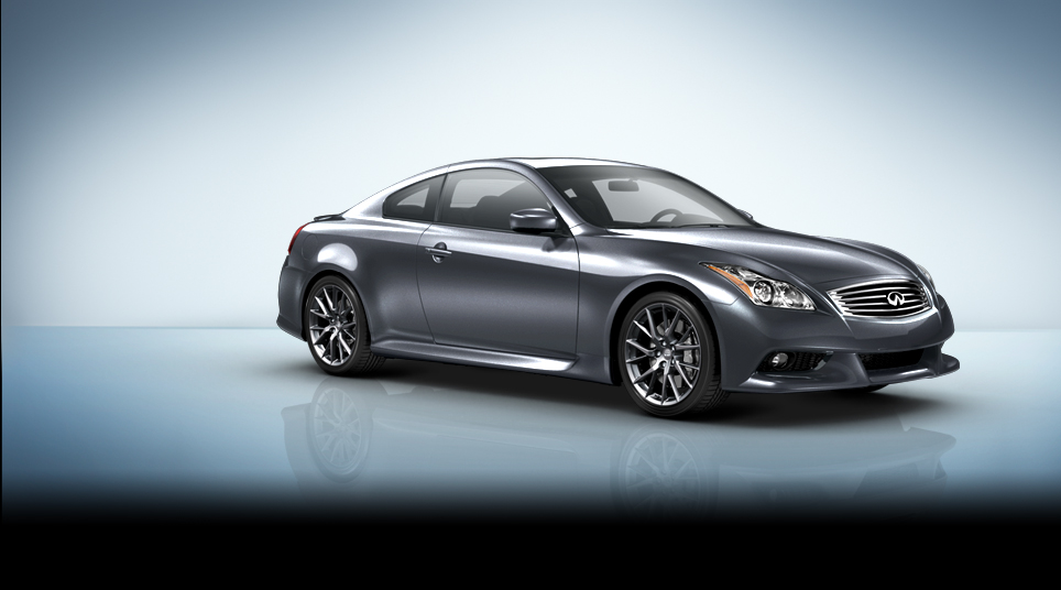 2013 Infiniti IPL G Coupe, exterior right front quarter view, manufacturer, exterior