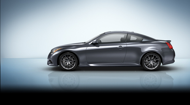 2013 Infiniti IPL G, exterior left side view full, exterior, manufacturer