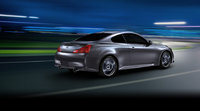 2013 Infiniti IPL G Coupe, exterior right rear quarter view, manufacturer, exterior
