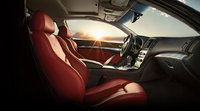 2013 Infiniti IPL G Coupe, interior front side view, manufacturer, interior
