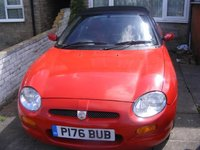 1997 MG F Overview