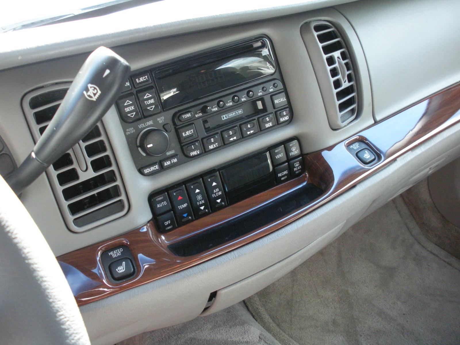 Buick Park Avenue Base Pic on 1999 Buick Lesabre Interior