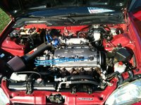 Picture of 1995 Honda Civic Si Hatchback, engine
