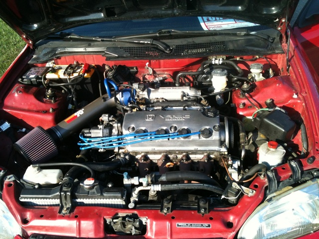 Picture of 1995 Honda Civic Si Hatchback, engine, gallery_worthy