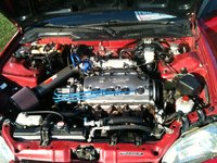 1995 Honda Civic Si Hatchback picture, engine