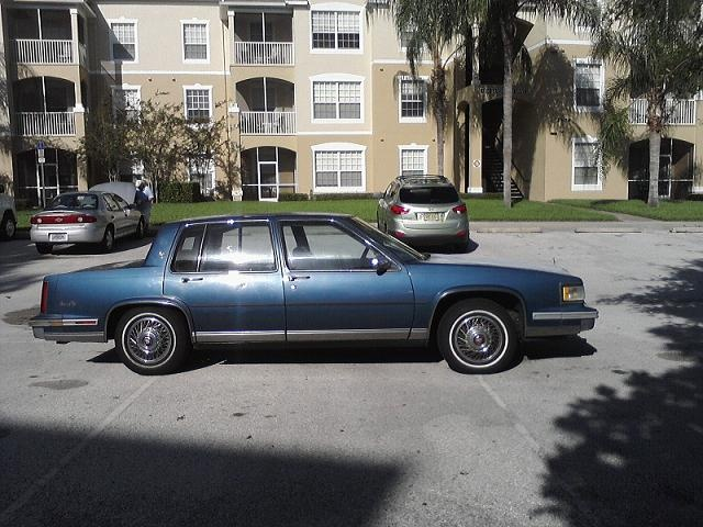 Picture of 1987 Cadillac DeVille