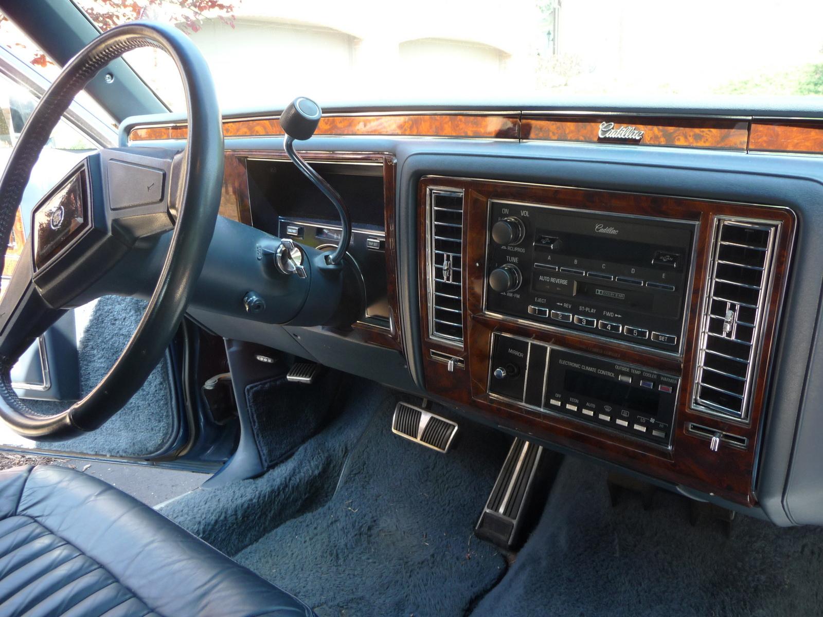1990 Cadillac Brougham Interior Pictures Cargurus