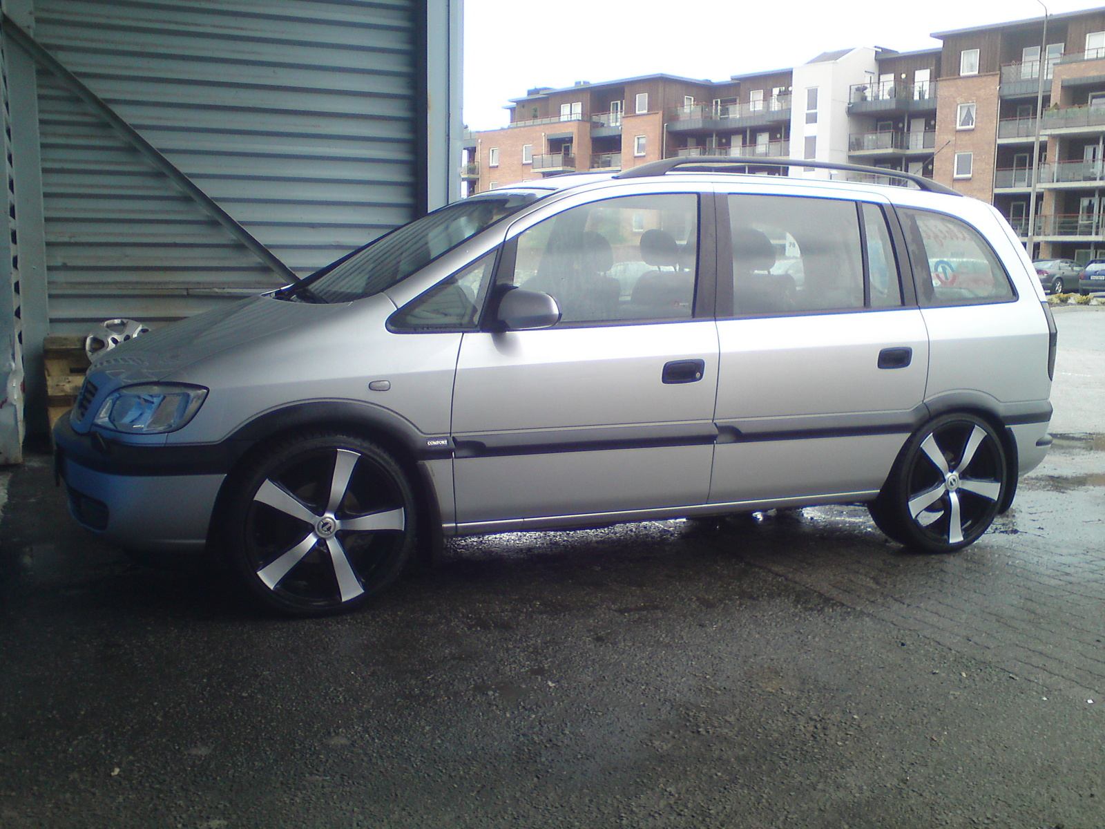 Picture of 2002 Opel Zafira, exterior