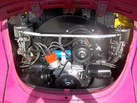 Picture of 1971 Volkswagen Super Beetle, engine
