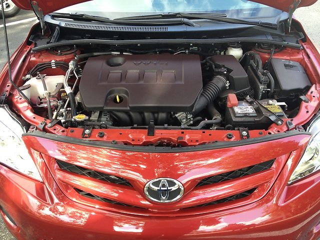 Picture of 2012 Toyota Corolla LE, engine