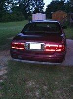 2000 Buick LeSabre Limited, Rear, exterior