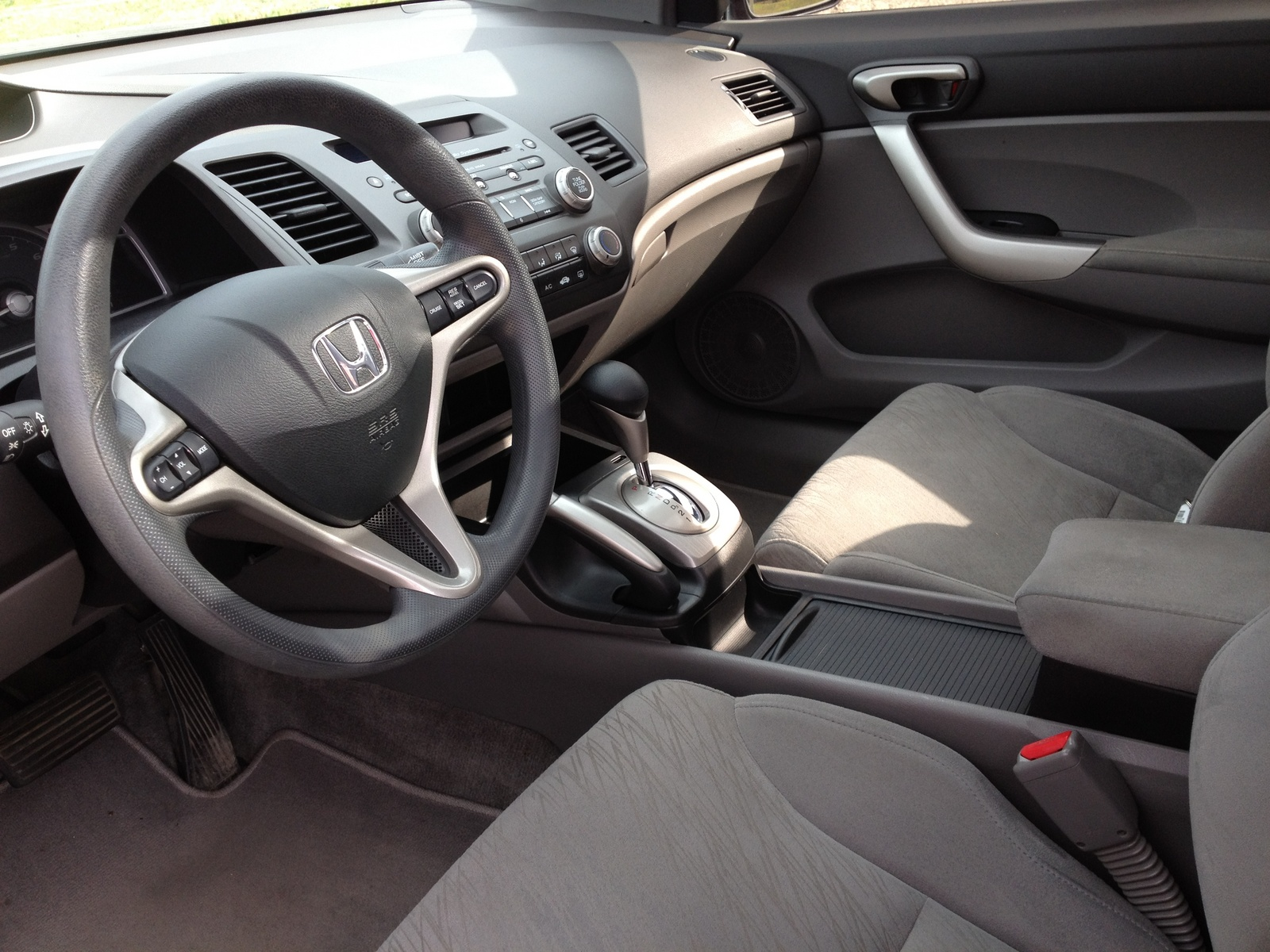 Honda Civic 2006 Coupe Interior - save our oceans