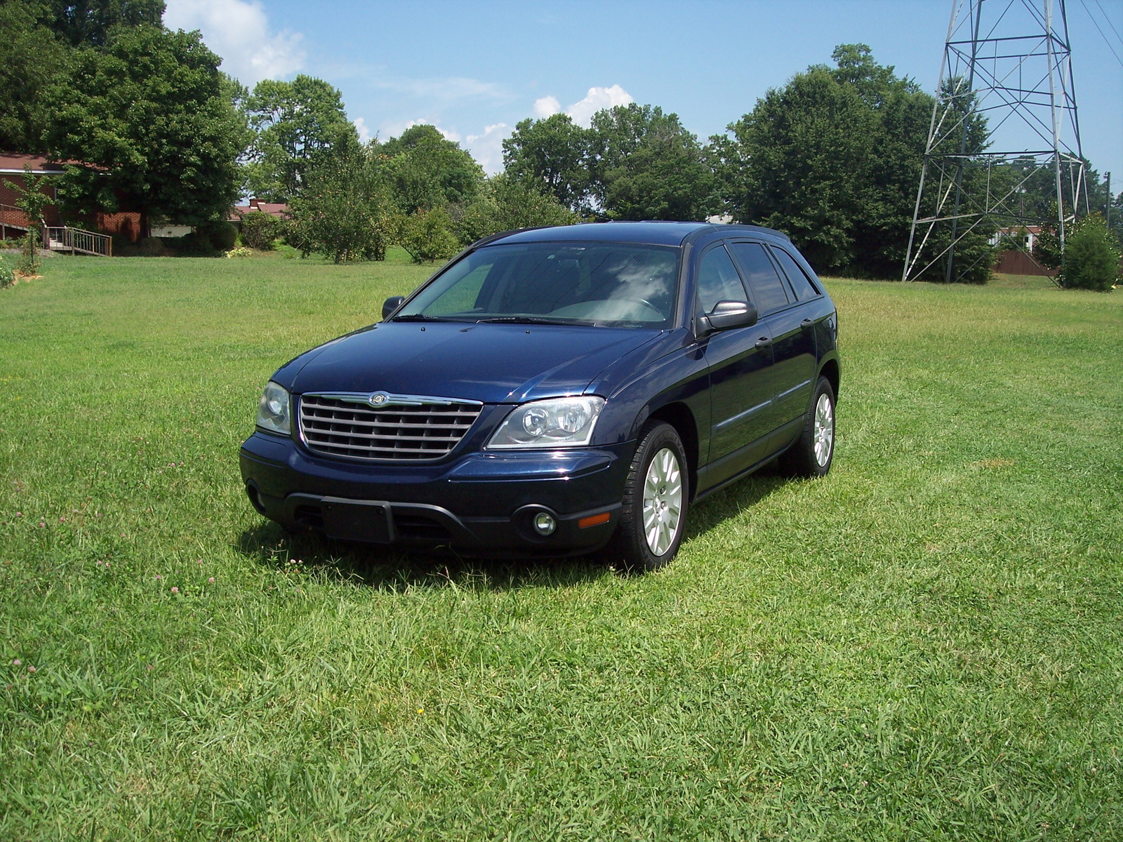 picture of 2005 chrysler pacifica base awd exterior. Cars Review. Best American Auto & Cars Review