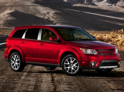 2013 Dodge Journey, Front quarter view copyright AOL Autos., manufacturer, exterior
