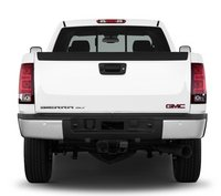 2013 GMC Sierra 2500HD, Back View copyright AOL Autos., exterior, manufacturer