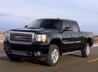 2013 GMC Sierra 2500HD, Front quarter view copyright AOL Autos., manufacturer, exterior