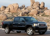 2013 GMC Sierra 2500HD, Front quarter view copyright AOL Autos., exterior, manufacturer