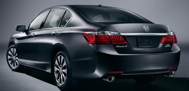 2013 Honda Accord, Back quarter view, exterior, manufacturer